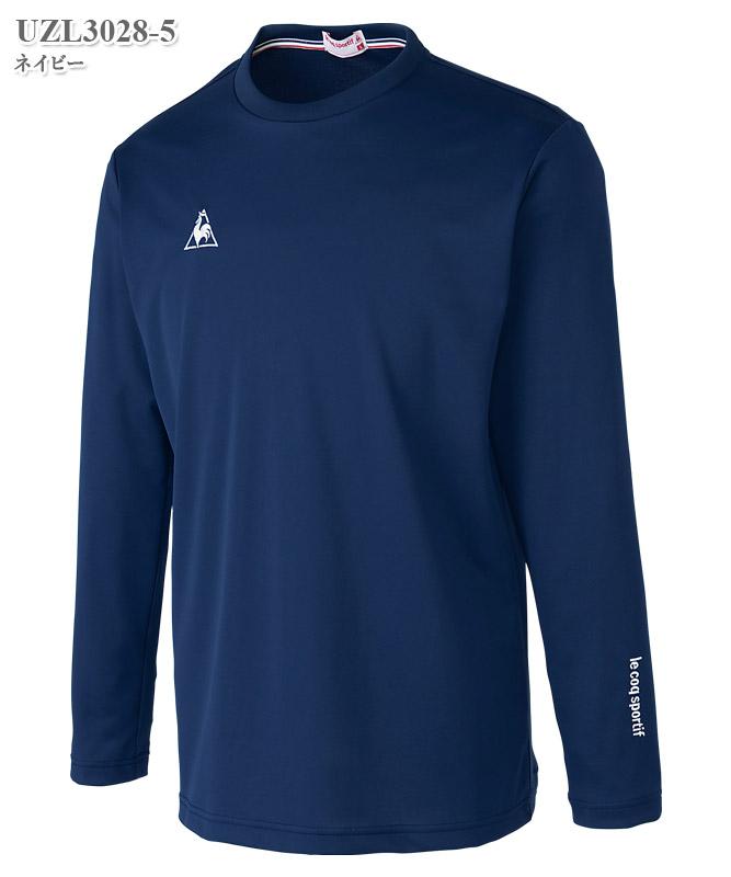 ルコックスポルティフ男女兼用長袖Tシャツ[lecoq製品] UZL3028