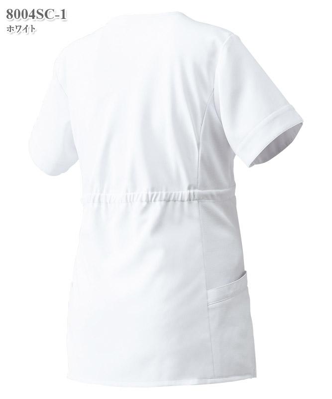 マタニティスクラブ半袖[フォーク製品] 8004SC