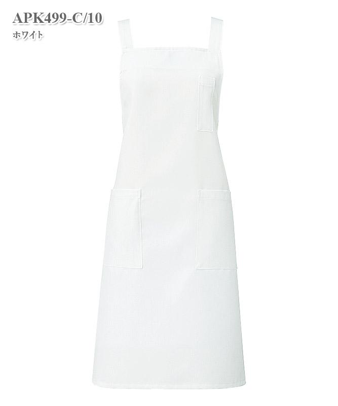 胸当てエプロン[KAZEN製品] APK499