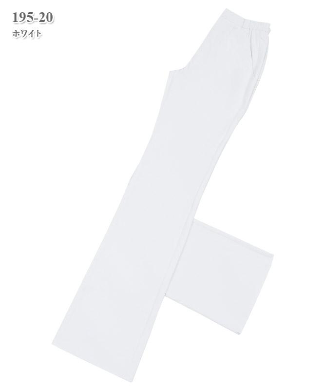 ソフトトリコットレディススラックス[KAZEN製品] 195-2