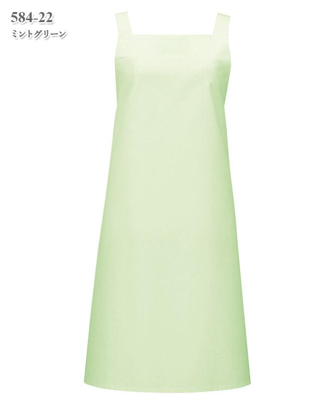 胸当てエプロン[KAZEN製品] 584-2