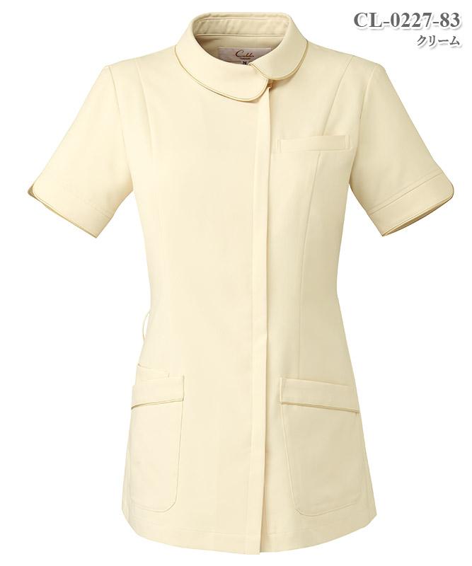 レディスジャケット半袖[チトセ製品] CL-0227