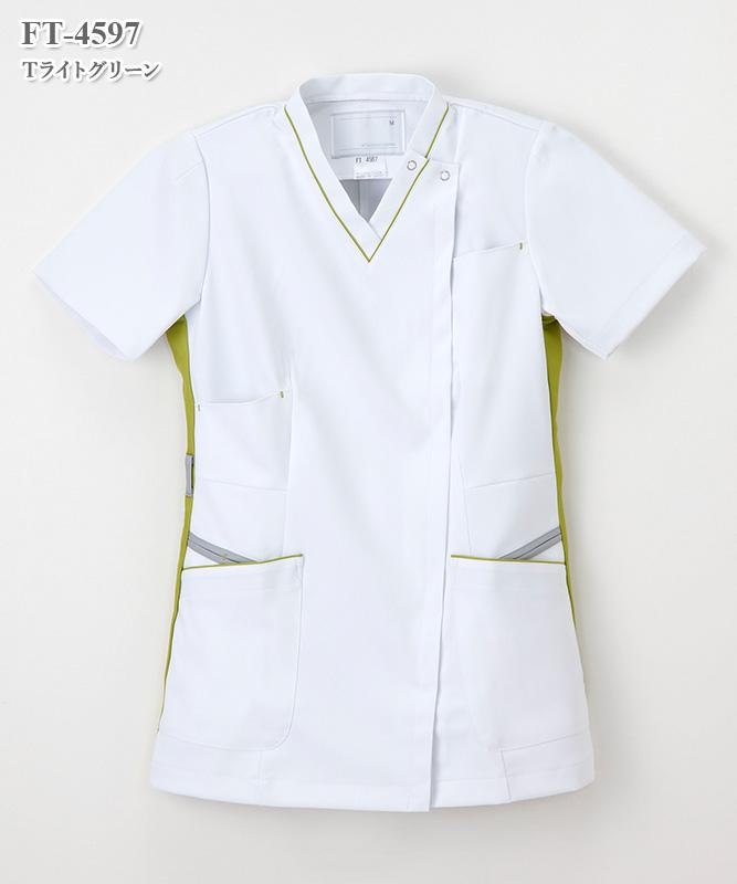 女子上衣半袖[ナガイレーベン製品] FT-4597