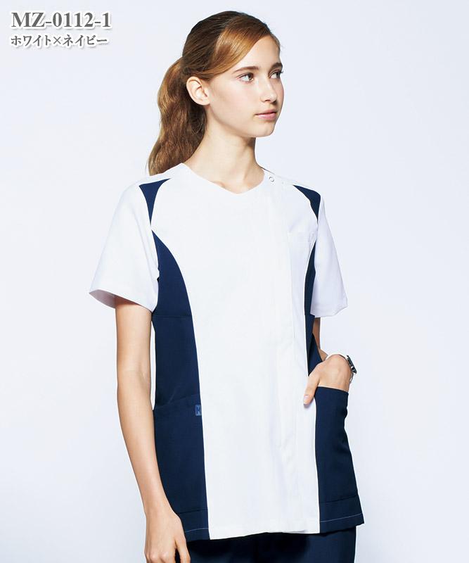 ミズノ女子スクラブ半袖[チトセ製品] MZ-0112