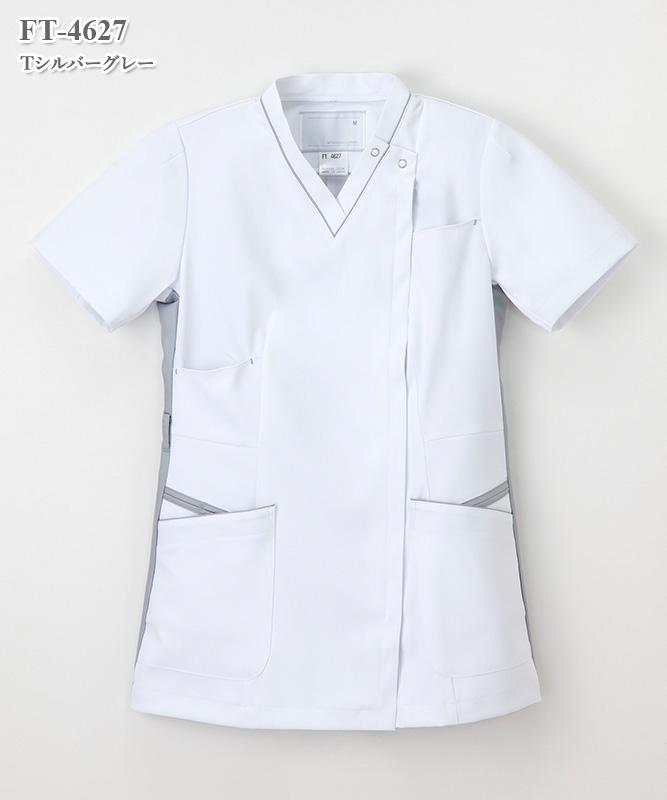 女子上衣半袖[ナガイレーベン製品] FT-4627