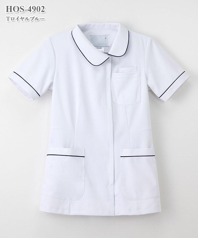 女子チュニック半袖[ナガイレーベン製品] HOS-4902