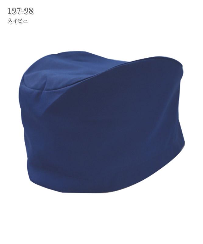 高機能ポプリン手術帽子/後ヒモ式/2枚組[KAZEN製品] 197-9