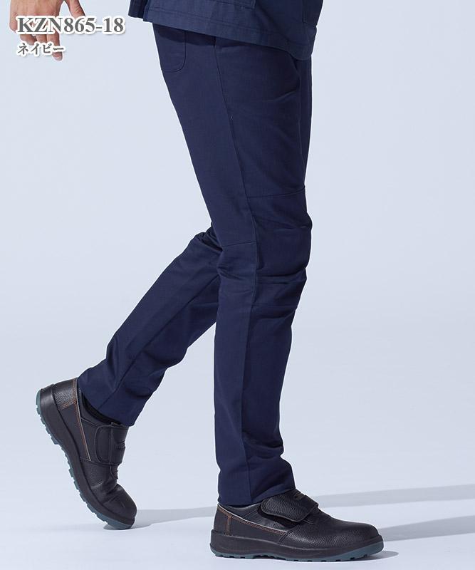 男女兼用パンツ[KAZEN製品] KZN865