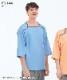 ヘルスヘルパー男女兼用検診衣上衣[ナガイレーベン製品] FK-1466