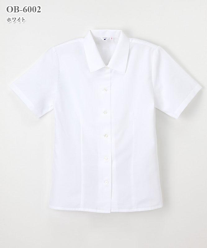 ケアレディ女子ブラウス半袖[ナガイレーベン製品] OB-6002
