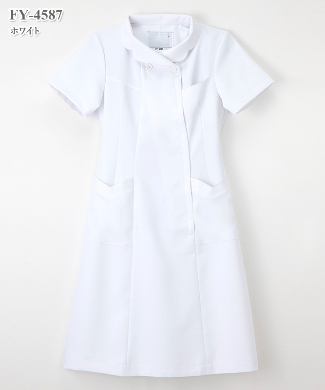 フェルネ女子ワンピース半袖[ナガイレーベン製品] FY-4587
