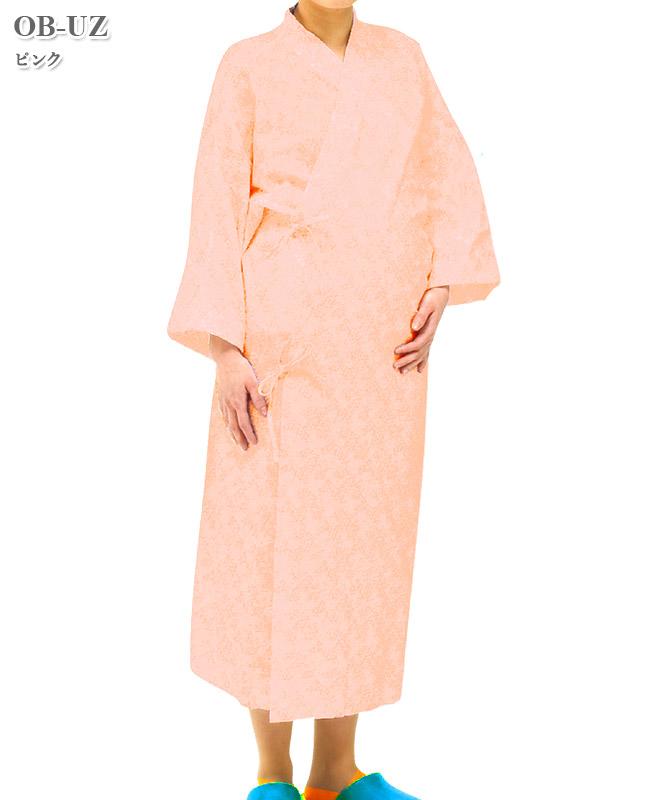 分娩着(1枚毎、ポリ袋入り、ピンク)(60枚入・返品不可商品)[ハイルバーティ製品] OB-UZ