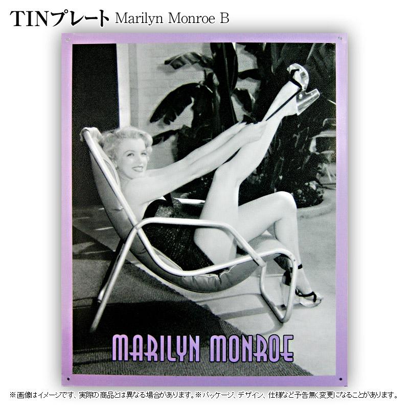 TINプレート[Marilyn Monroe B]