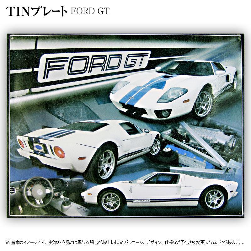 (完売)TINプレート[FORD GT]