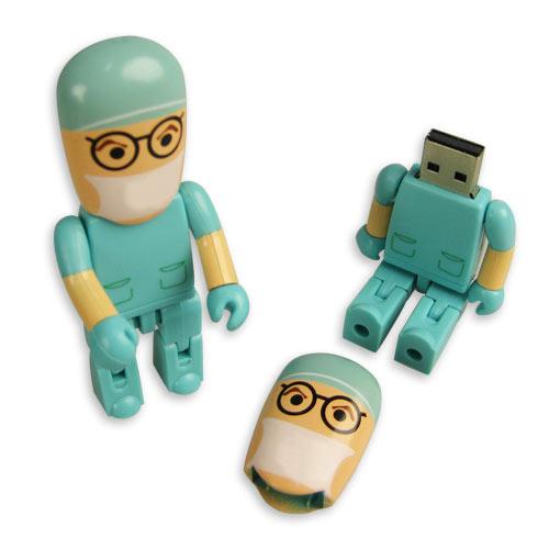 (完売)USBフラッシュメモリ(ドクター)