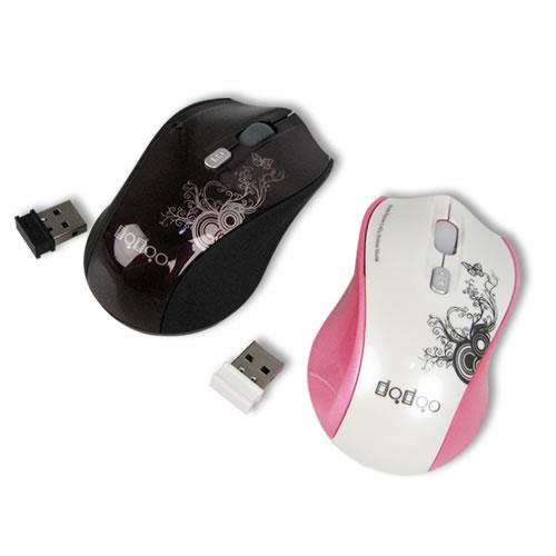 バタフライデザインワイヤレスマウス