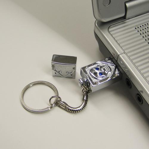 USBフラッシュメモリ(スカル)