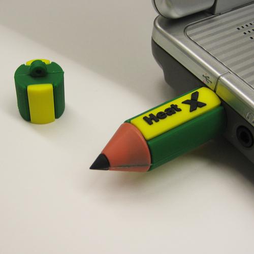 USBフラッシュメモリ(鉛筆)