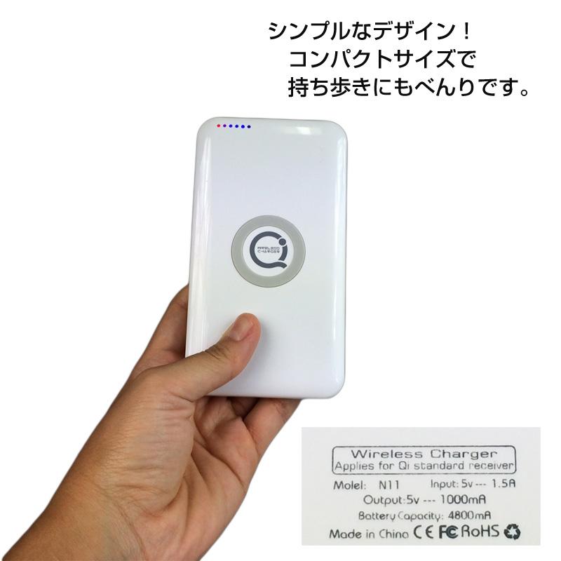 Qi対応ワイヤレス充電器