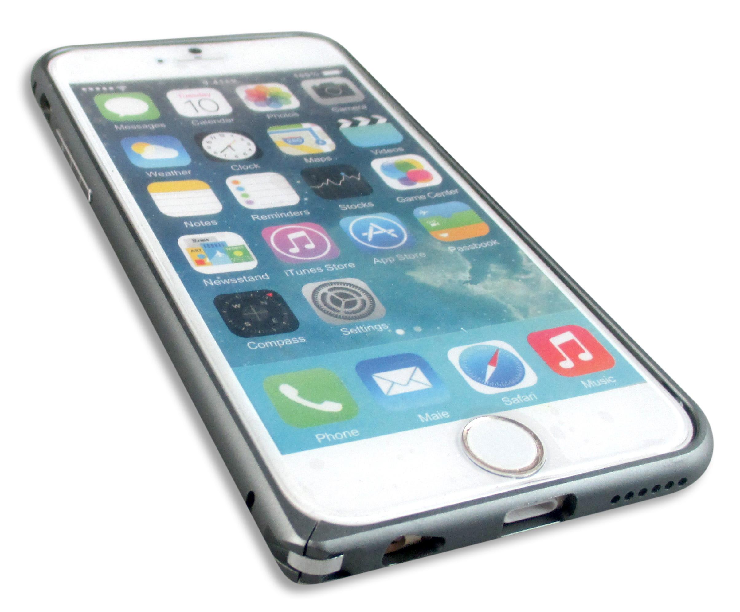 iPhone6 アルミバンパーケース