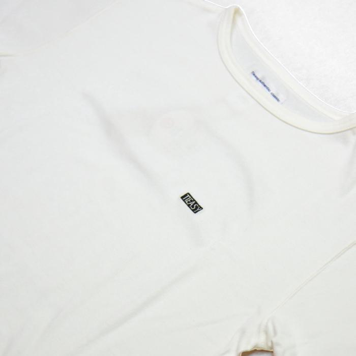 te-500cr-one SUMMERKNIT PRINT-T  White×Black
