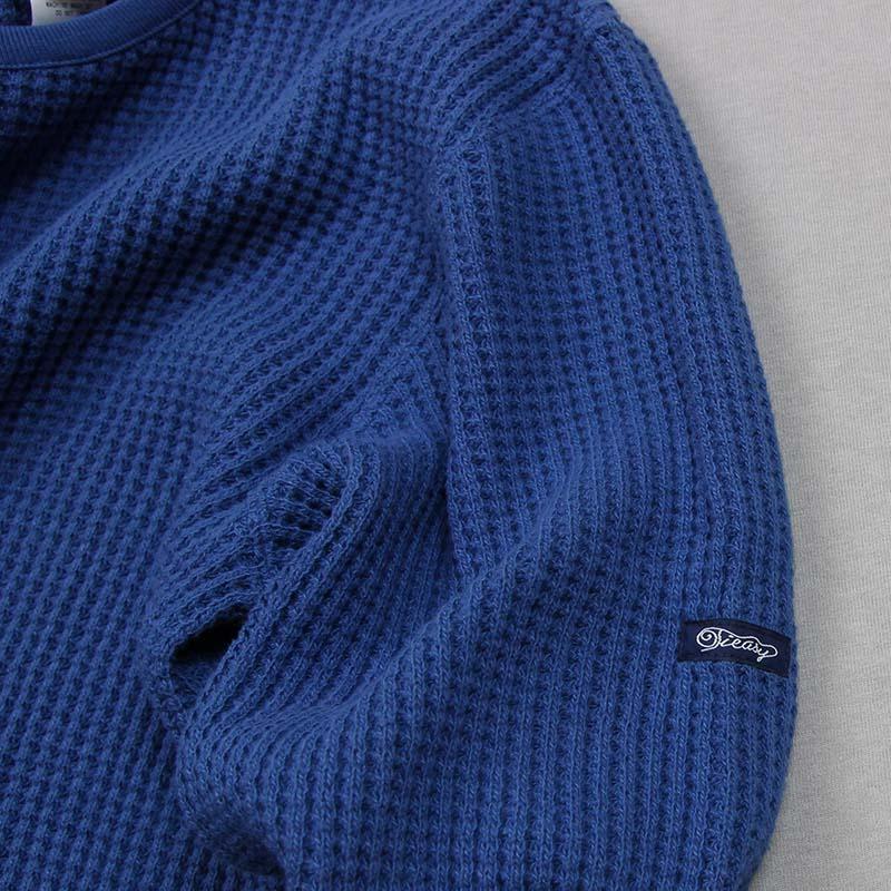 te601 Tieasy SUPER THERMAL CREW Blue