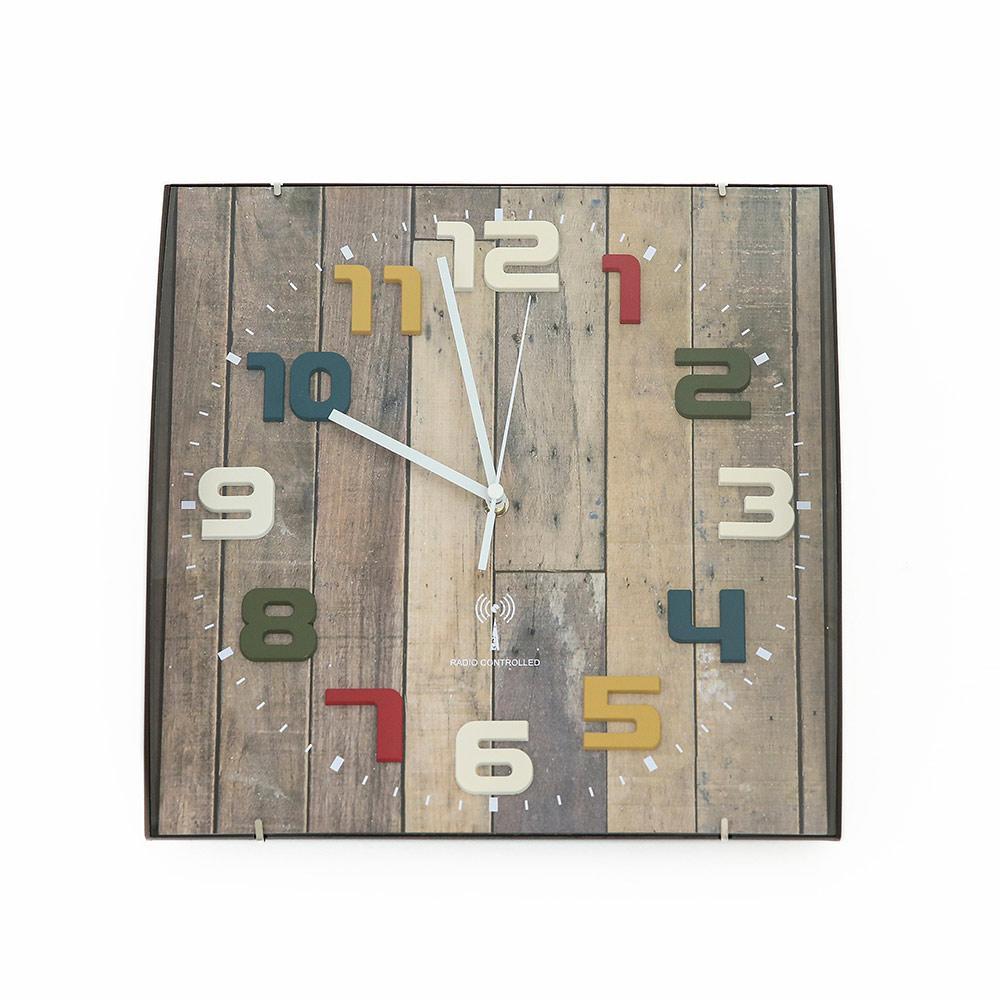 電波時計(掛時計) マルチ BR FX6702Q2  ※電池別売り