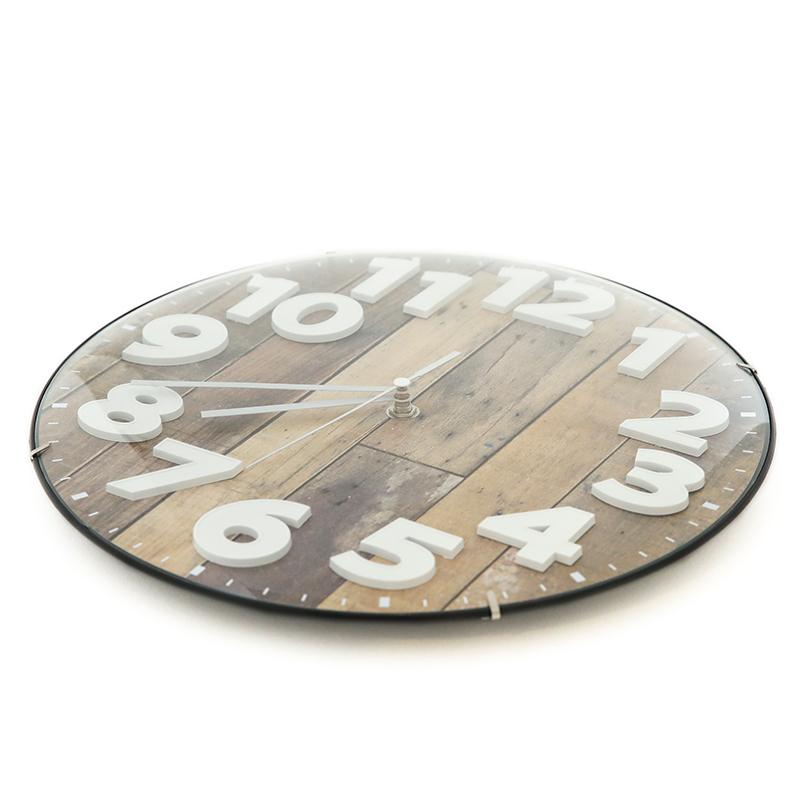 クロック 掛時計 デコ  WHD FX730Q2       ※電池別売り