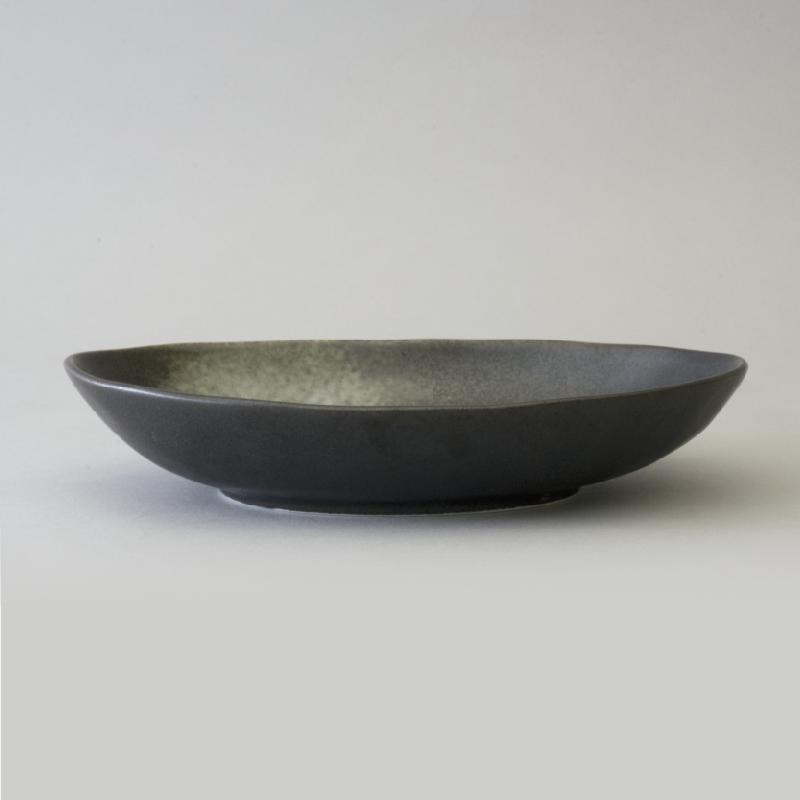 カレー皿 IF96995 いふう ミカゲBK