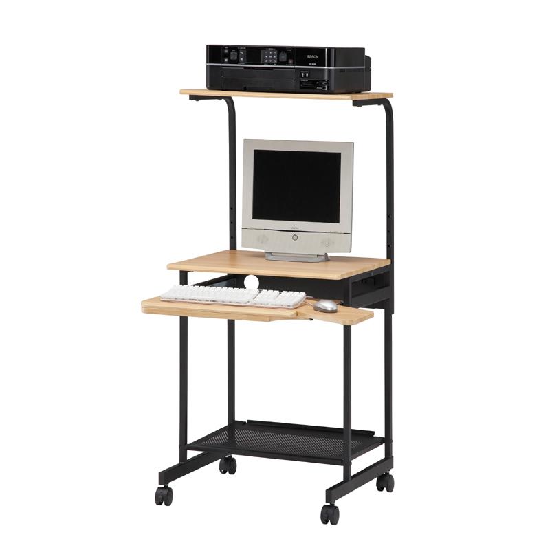 【お客様組立商品】パソコンデスク パソプリ PPR-60H 白井産業 ※3色から選べます