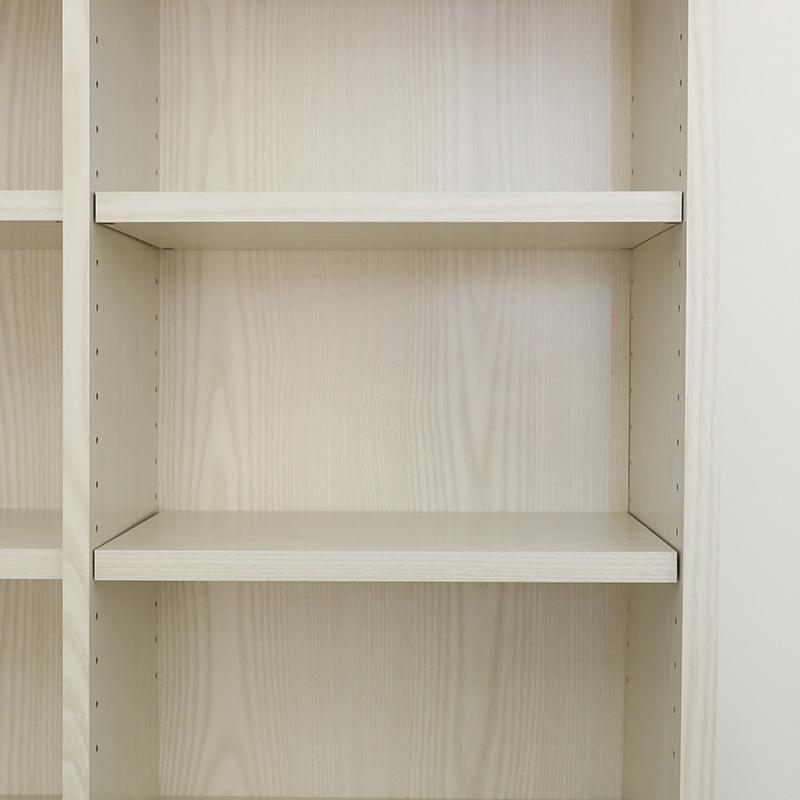 【お客様組立商品】引出し付き書棚 IFリバタナRVT-1885H WH 白井産業