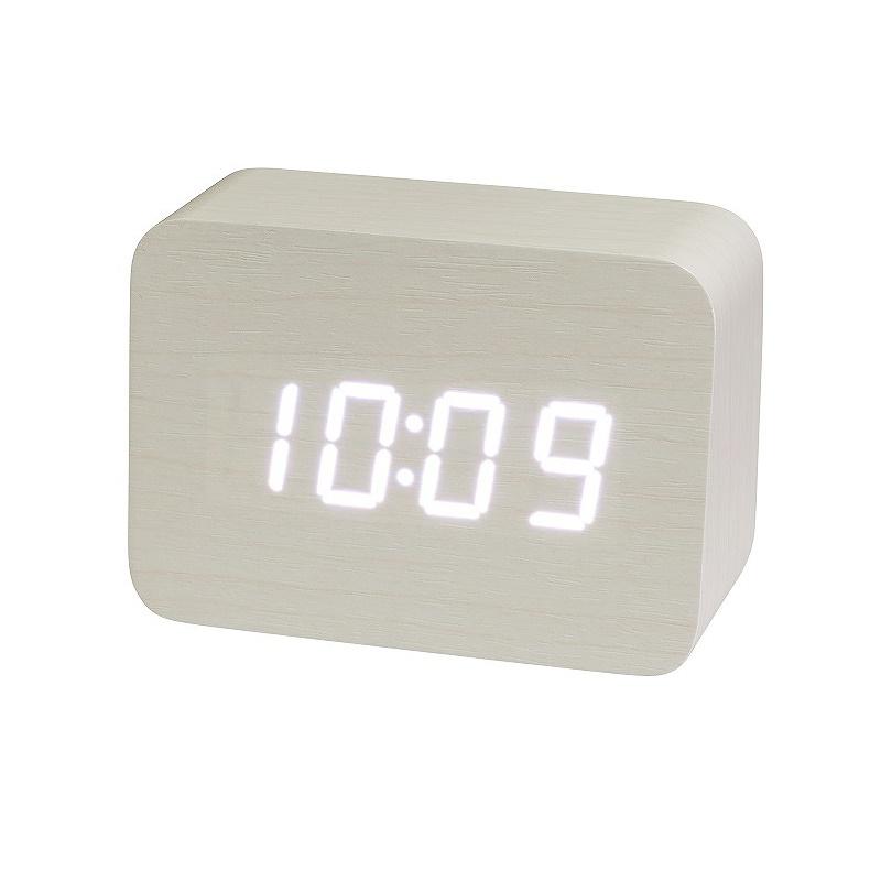 クロック (置き) IAC-5656 WT