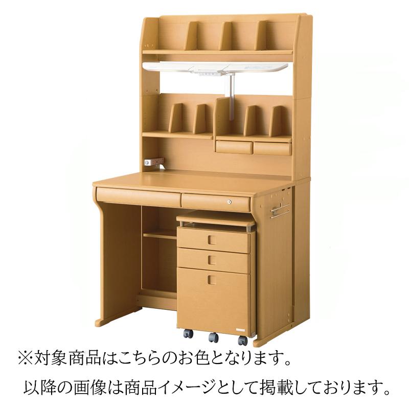 【コイズミ】学習机 CDM-491NSNS(ナチュラルウッド)