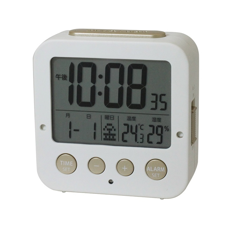 電波クロック (置き) IAC-5637 WTD