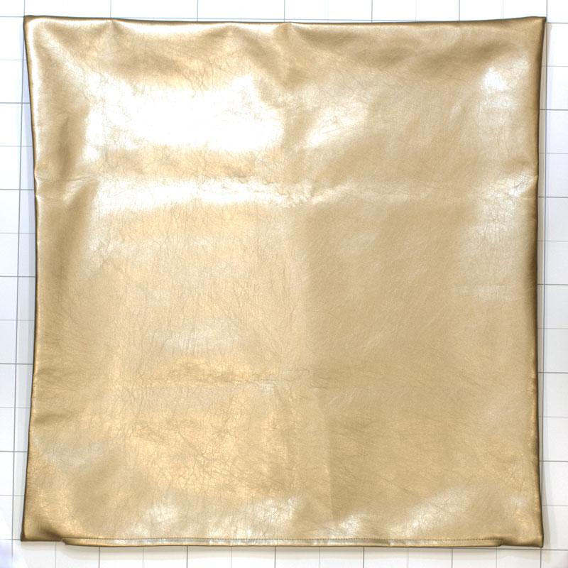 クッションカバー ifフェイクレザーSV 60×60� 【if HOME COLLECTION】 ※カバーのみ