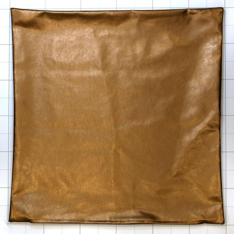 クッションカバー ifフェイクレザーGO 60×60� 【if HOME COLLECTION】 ※カバーのみ