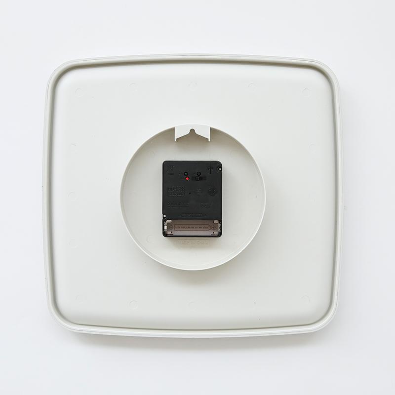 電波時計(掛け時計) スモーキーFX5746D GY※電池別売り
