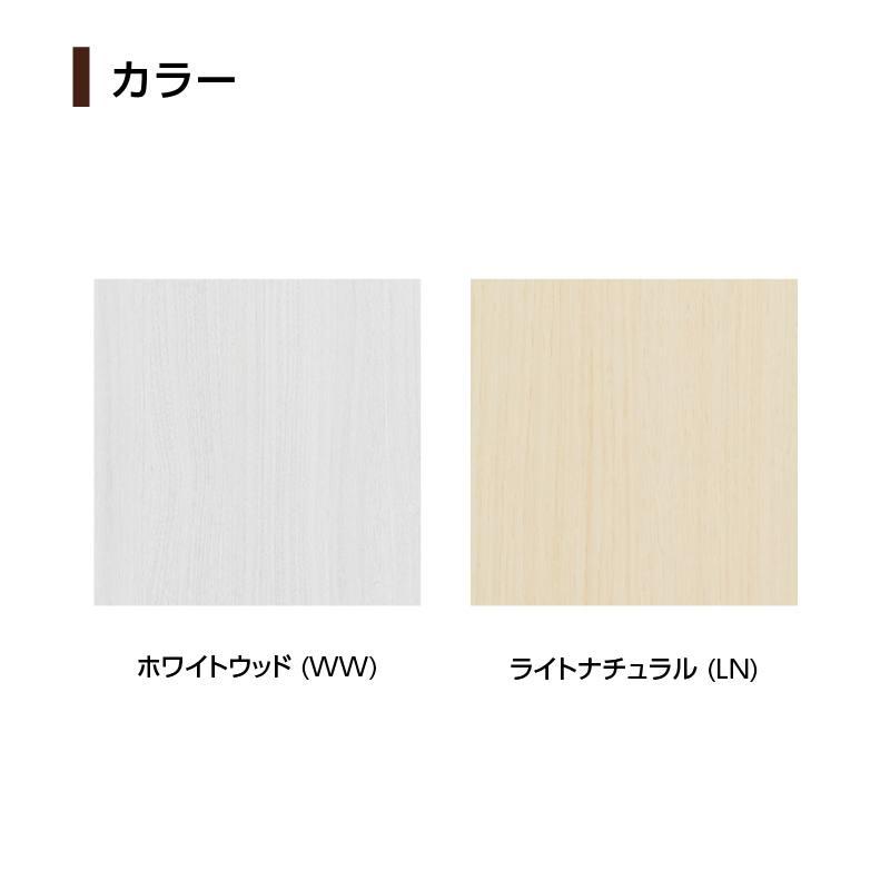 【お客様組立商品】デザインラック フロークスFLS9085 WW&LN