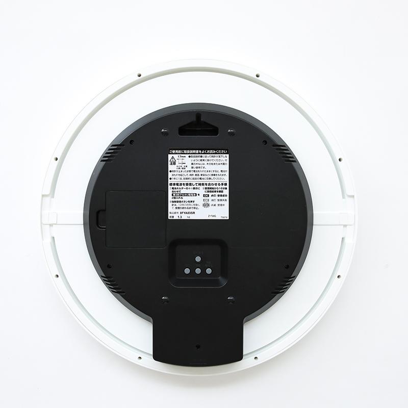 電波時計(掛時計) フィットウェーブリブA03 WH 8FYA03SR03
