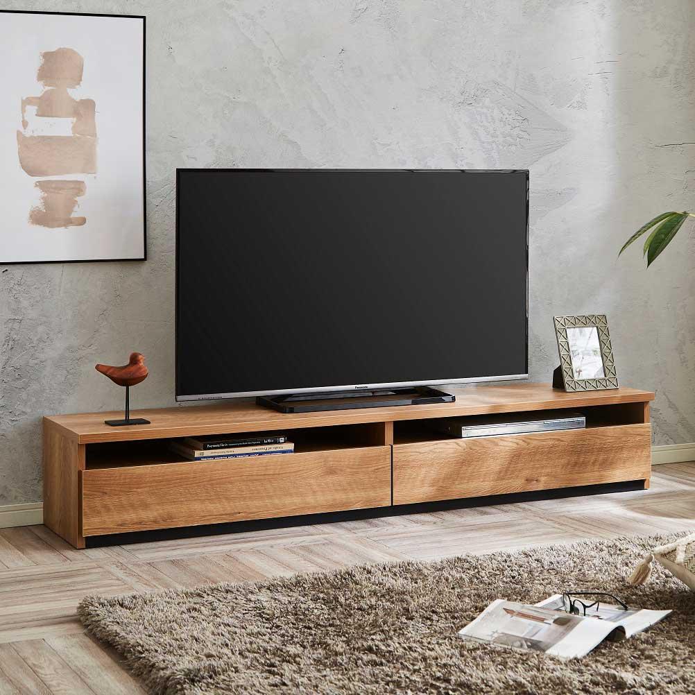アウトレット特別商品 TVボード JIN180TV OAK 【大型商品配送便でのお届け】 ¥29.800→¥24.800