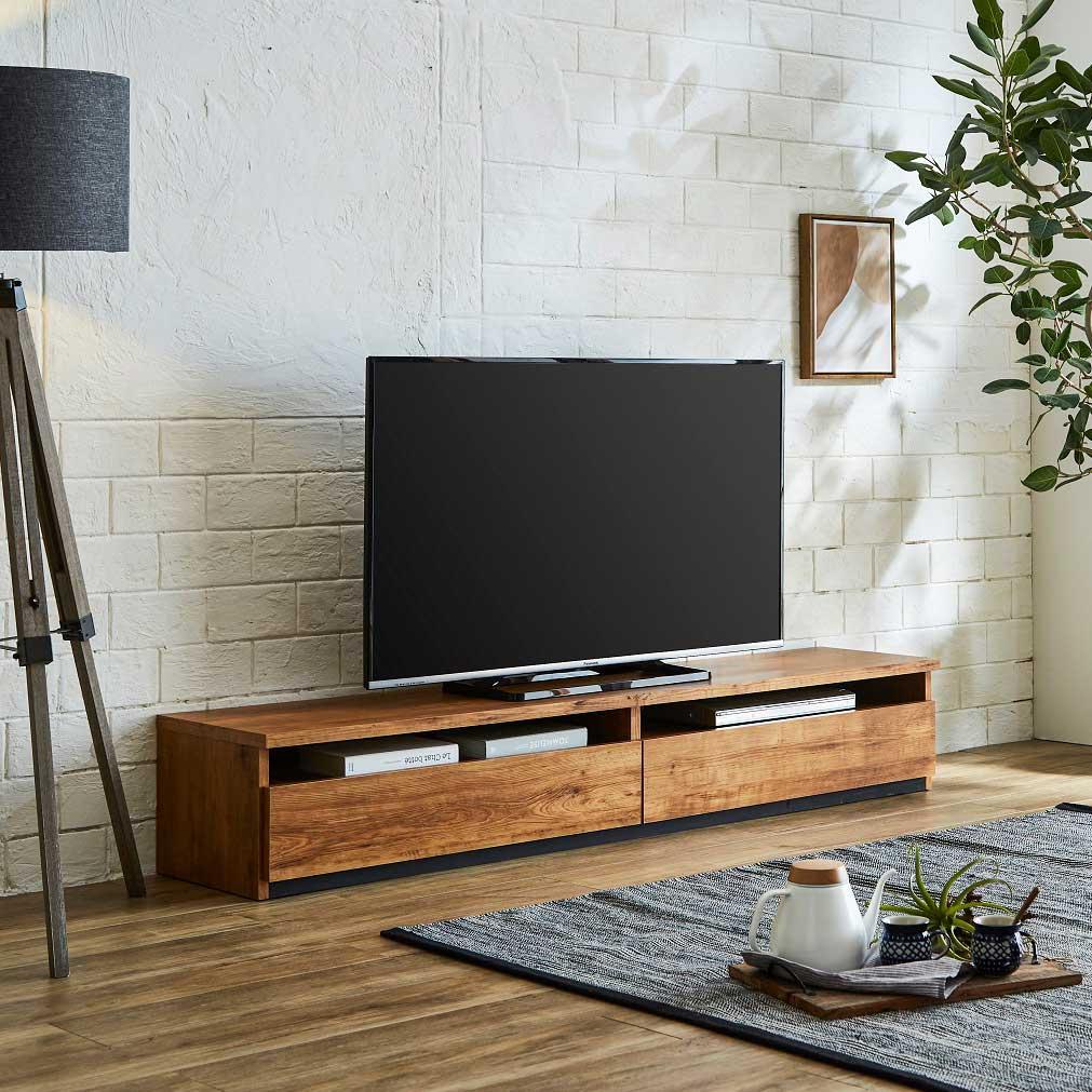 アウトレット特別商品 TVボード JIN180TV NA 【大型商品配送便でのお届け】 ¥29,800→¥24,800
