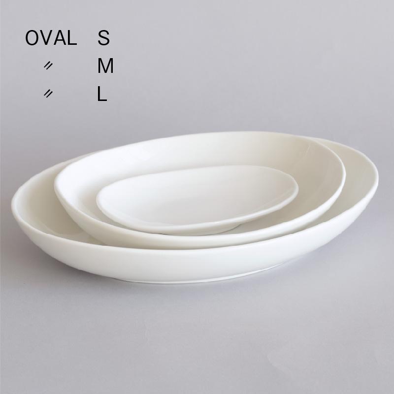 オーバルプレート OVAL  L