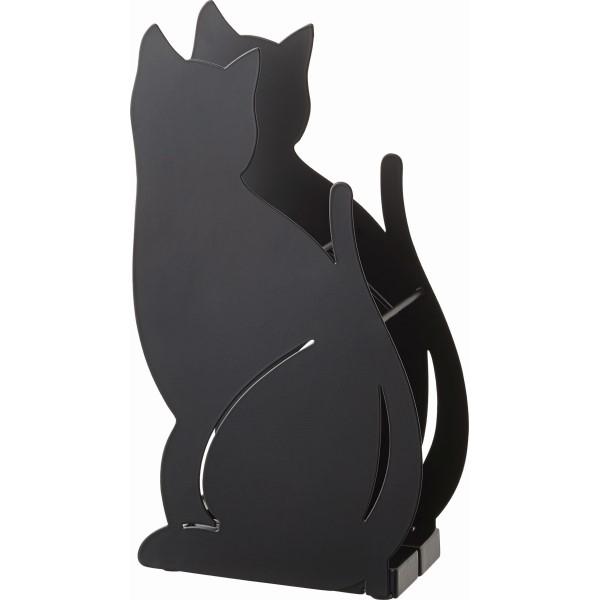 傘立て 猫BK