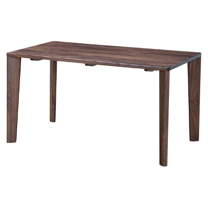 ダイニングテーブル SAMANTHA3 135〜180TOP WN+4LEGS WN 【大型商品配送便でのお届け】 ※4サイズから選べます