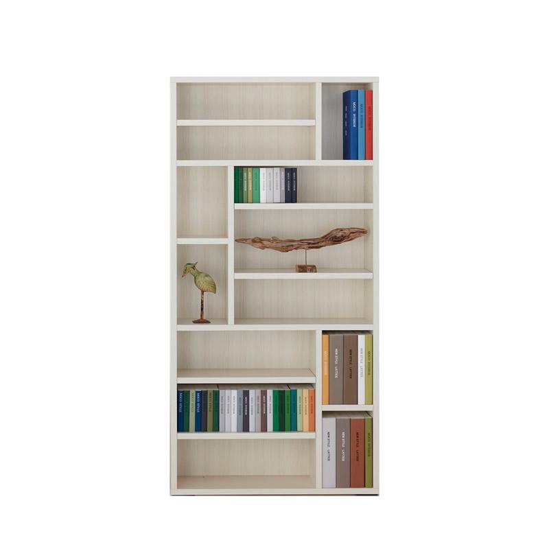 フナモコ 書棚 薄型22cm飾り棚兼用タイプ (日本製・完成品) TRBS-900ホワイトウッド 【大型商品配送便でのお届け】