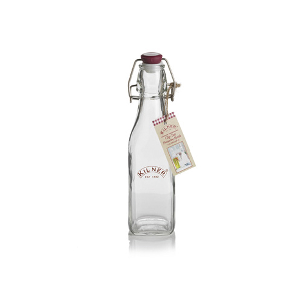 Square Cliptop Bottle スクエアクリップボトル 250ml