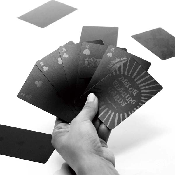 BLACK PLAYING CARDS ブラックプレイングカード