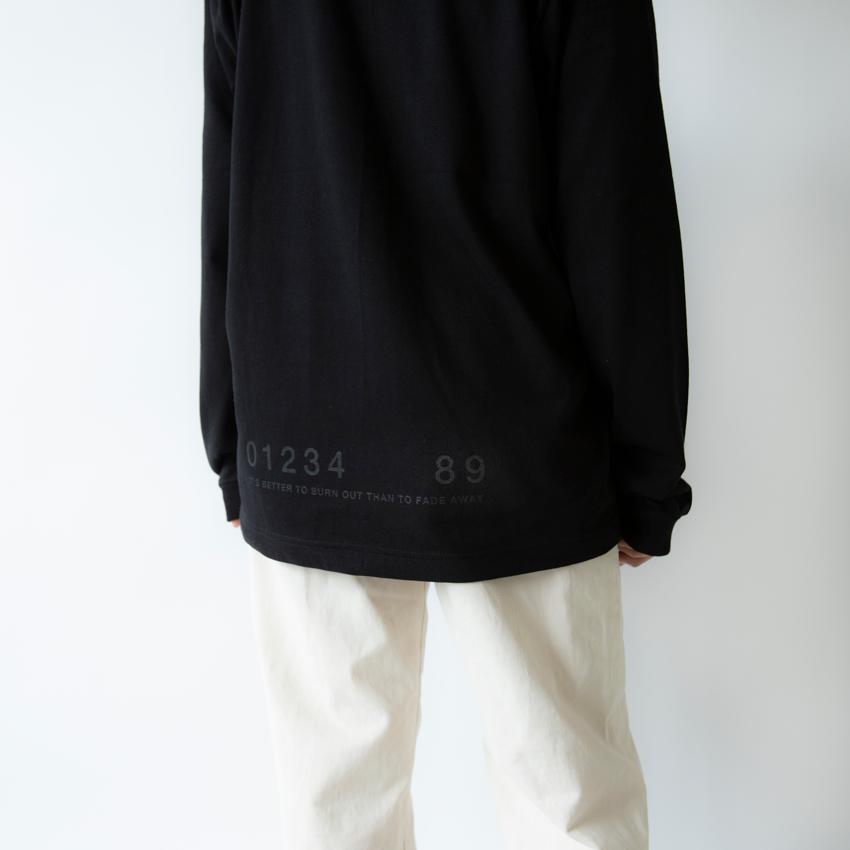 OVERCOME 567 L/S ブラック×ブラック