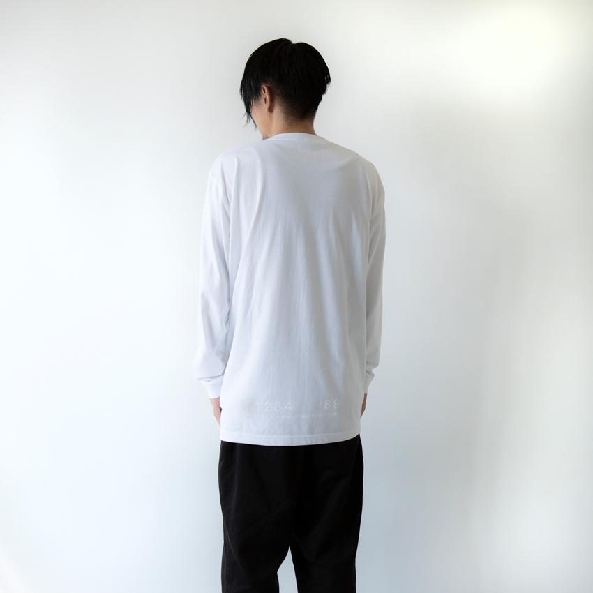 OVERCOME 567 L/S ホワイト×ホワイト