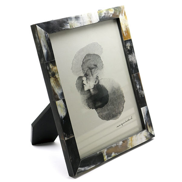 BONE PHOTO FRAME AFRICAN HORN L ボーンフォトフレーム